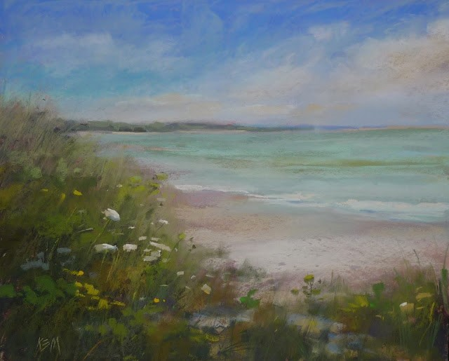 """One Great Reason to Love Pastels"" original fine art by Karen Margulis"