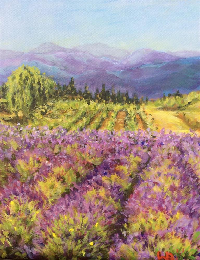 """Summer Breeze"" original fine art by wendy black"