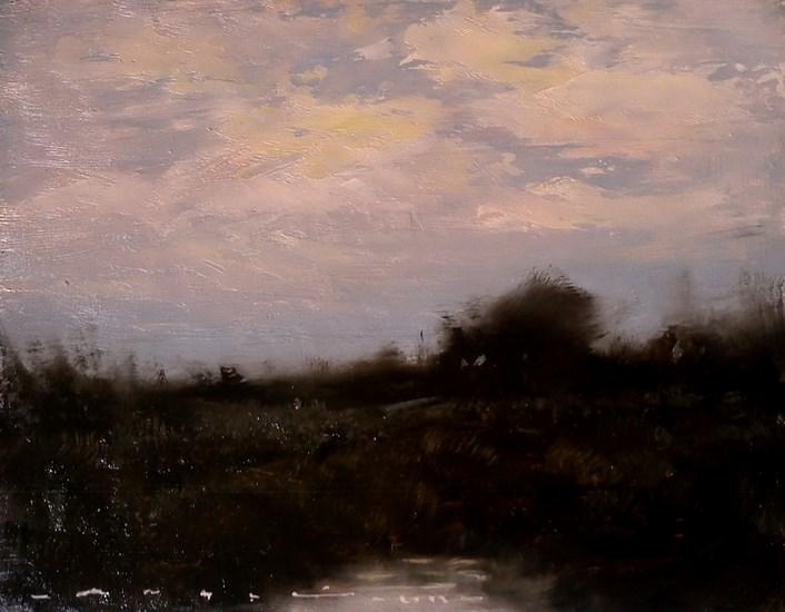 """""""landscape- Dusk 008"""" original fine art by Angel Angelov"""