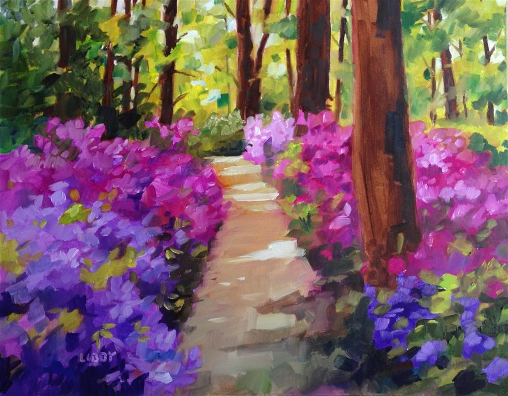 """""""Paradise Found"""" original fine art by Libby Anderson"""