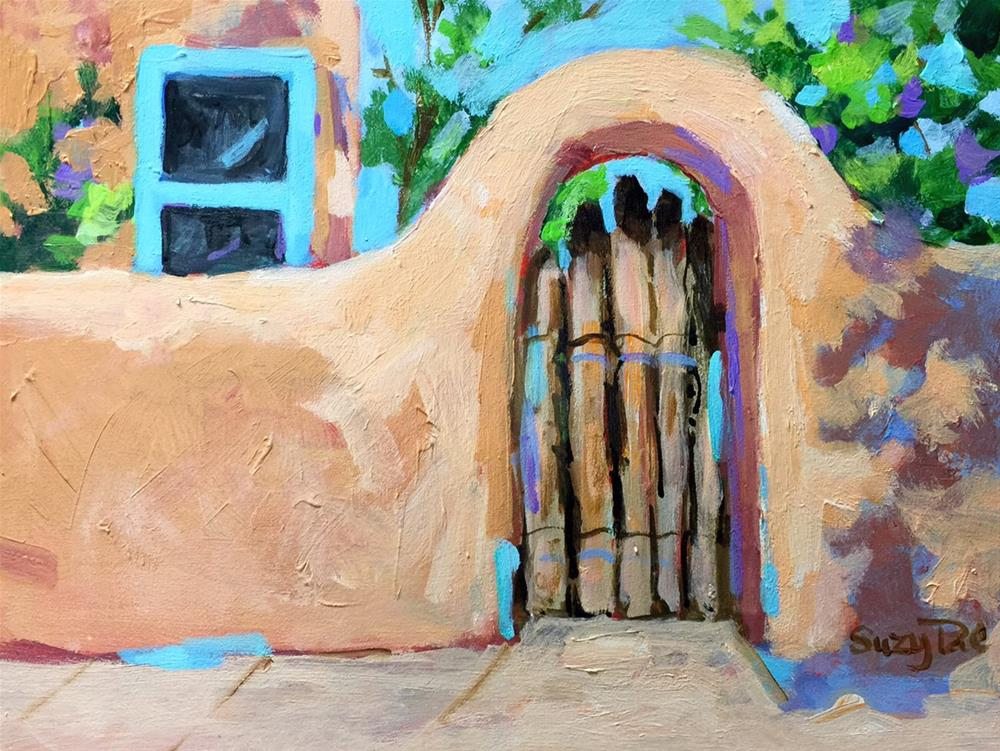 """Santa Fe Day #15"" original fine art by Suzy 'Pal' Powell"