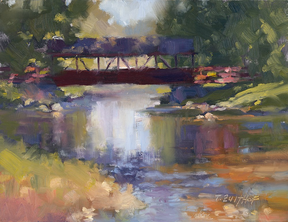 """Bridge 8x10"" original fine art by Todd Zuithof"