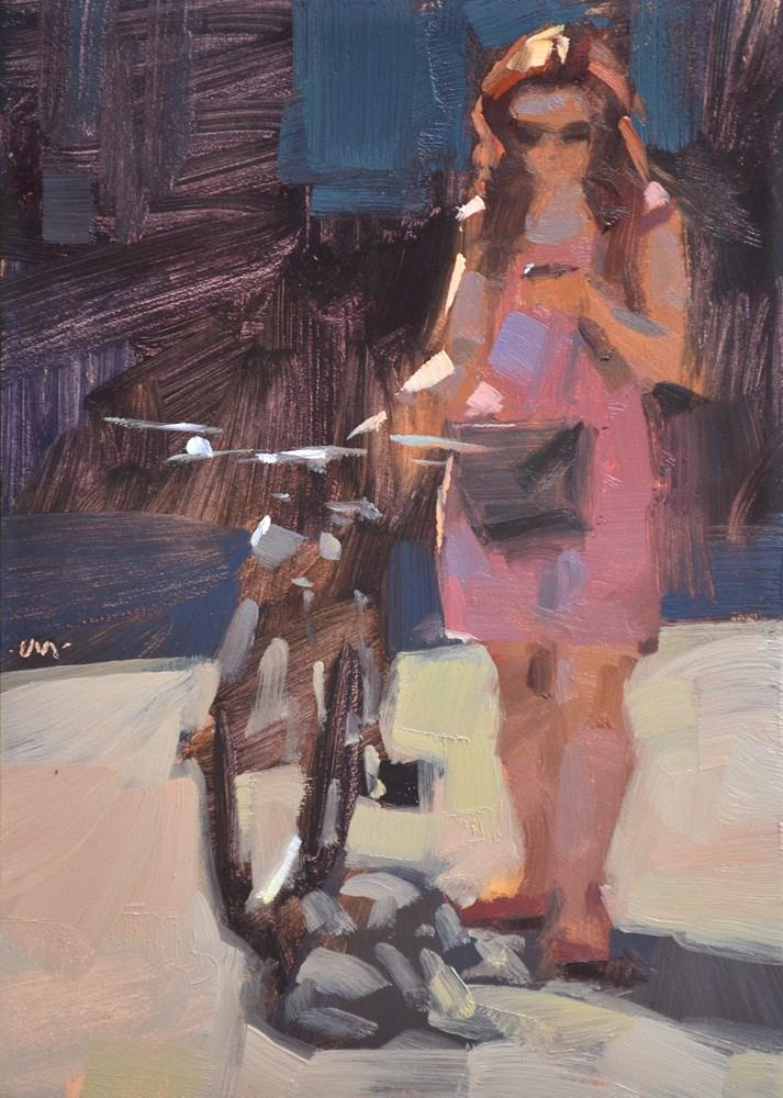 """Sun-kissed"" original fine art by Carol Marine"