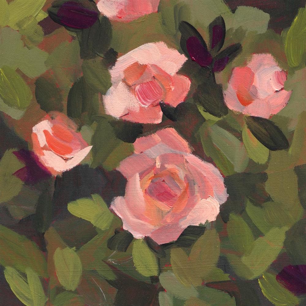 """Love Grows (#464)"" original fine art by Debbie Miller"