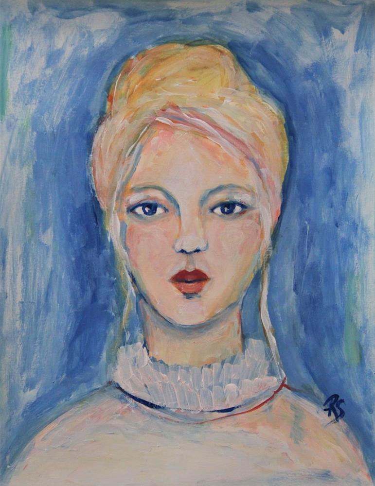 """""""Hannah"""" original fine art by Roberta Schmidt"""