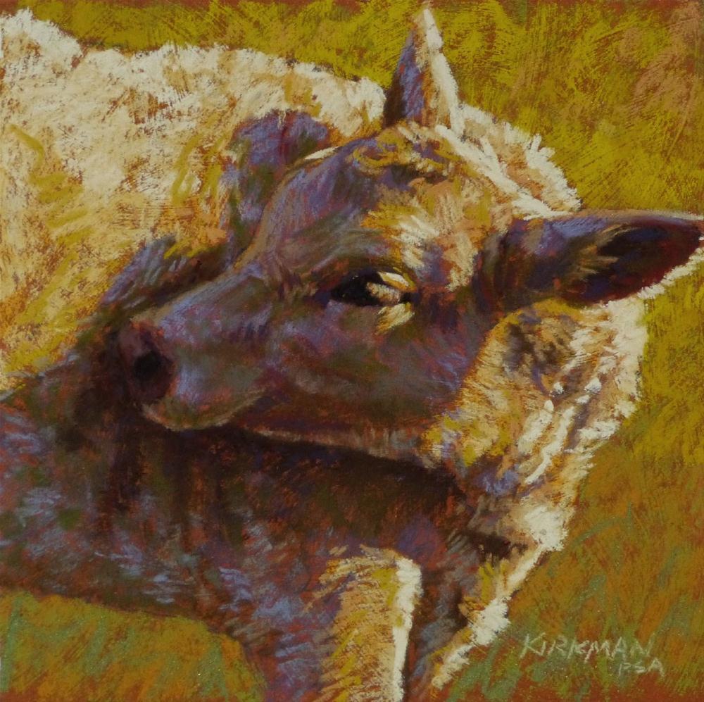"""""""Golden"""" original fine art by Rita Kirkman"""