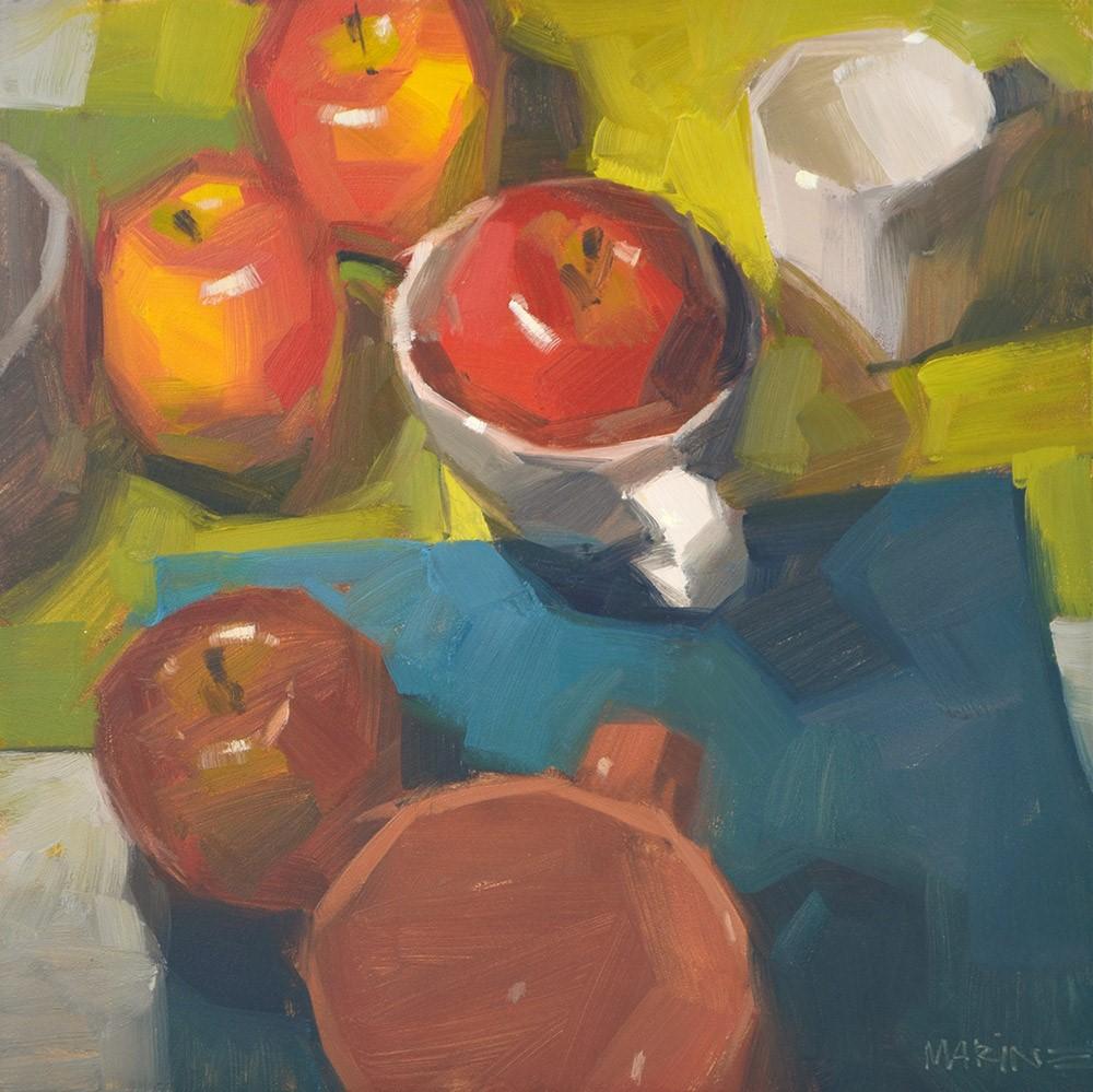 """If the Cup Fits"" original fine art by Carol Marine"