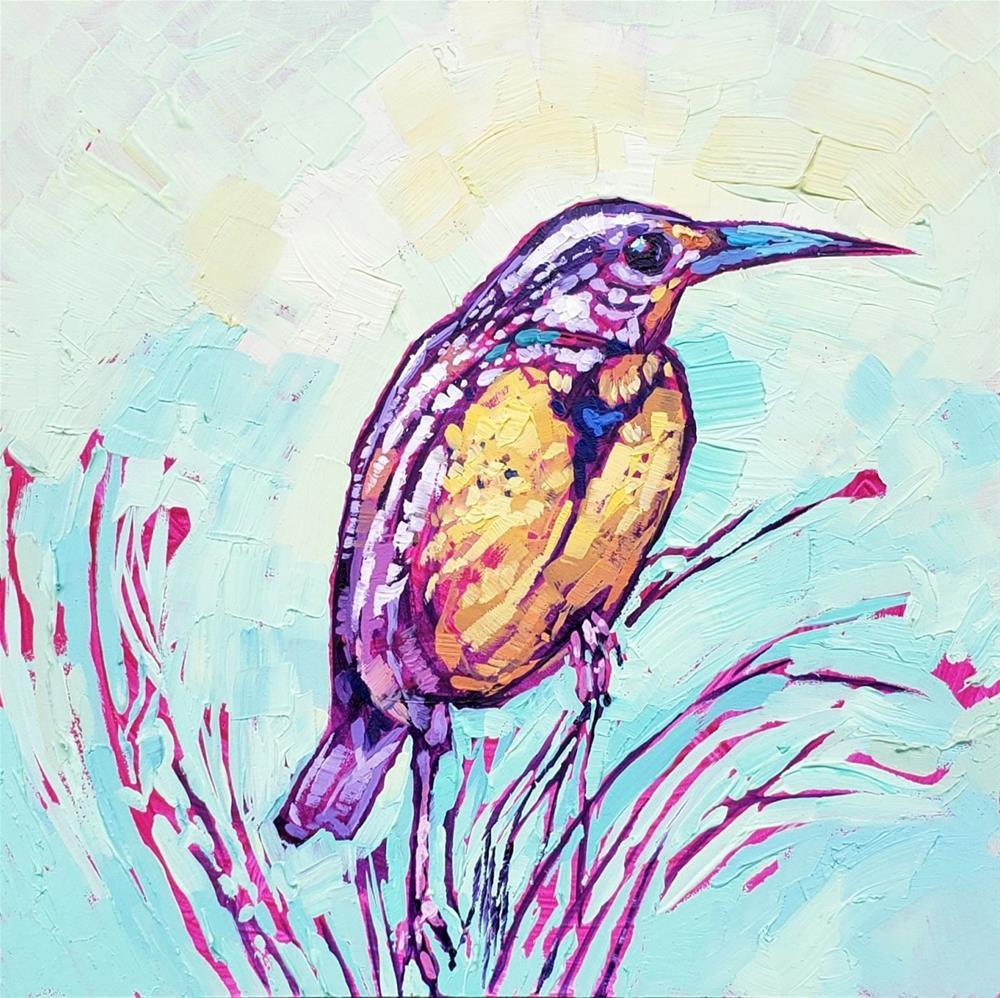 """Songs of Winter by Bhavna Misra"" original fine art by Bhavna Misra"