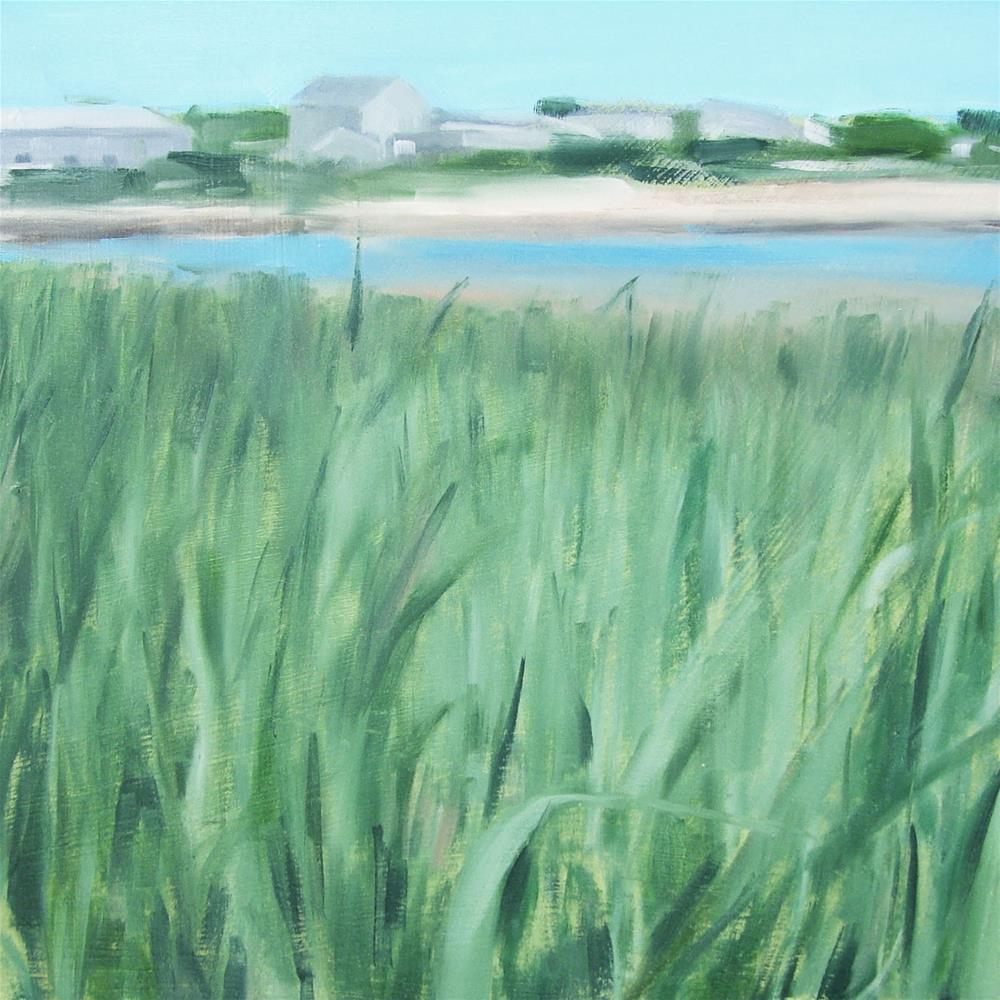 """Louis Bay Inlet, West Yarmouth, Cape Cod MA (no.75)"" original fine art by Michael William"
