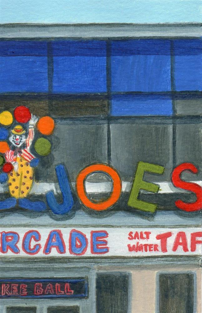 """Joe's"" original fine art by Debbie Shirley"