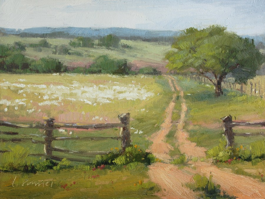 """Jeep Trail"" original fine art by Laurel Daniel"