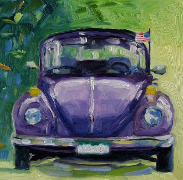 """Capital Hill Express"" original fine art by Mb Warner"