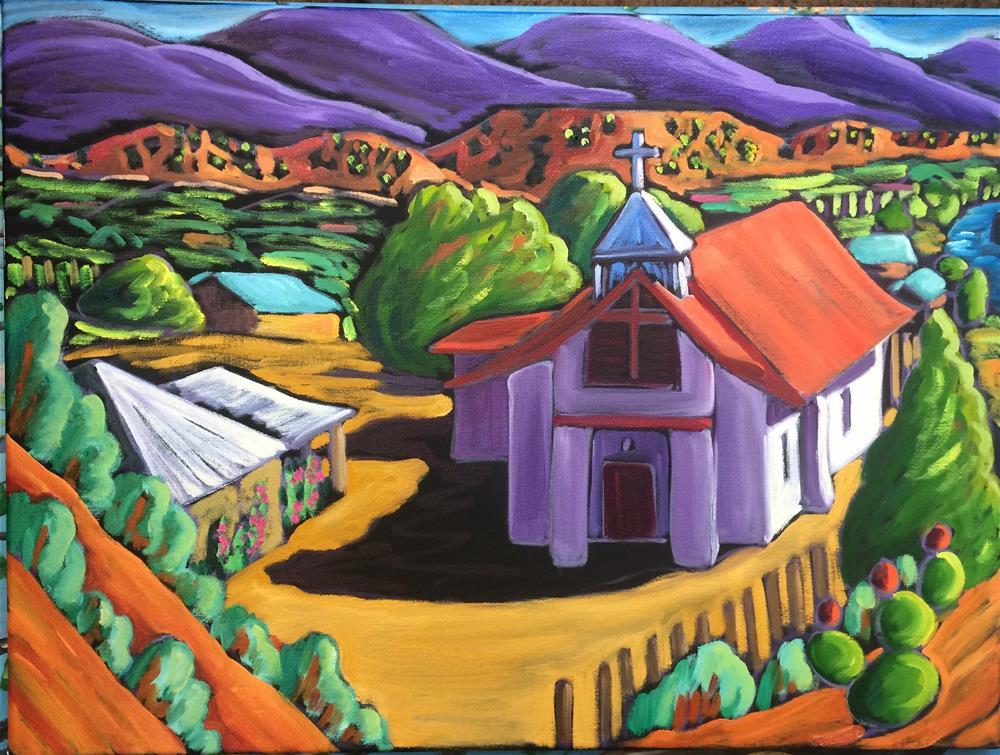 """""""Pilar 4"""" original fine art by Robyn Wellman"""