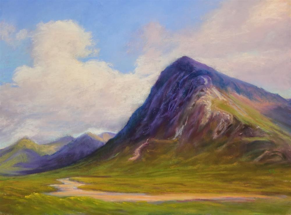 """""""Glen Coe (#2), Scotland"""" original fine art by Sharon Lewis"""