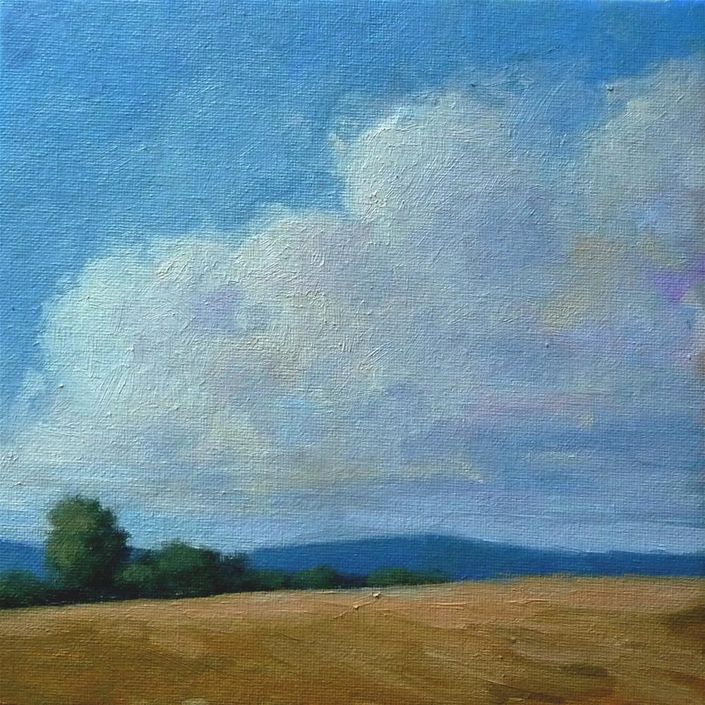 """""""Top of the Hill"""" original fine art by Lisa Kyle"""