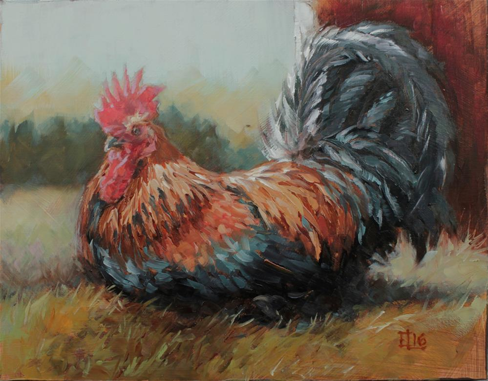 """""""Jalmari"""" original fine art by Emilia Leinonen"""