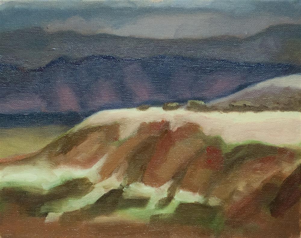 """Daniel's Park Ridge"" original fine art by Catherine Van Berg"