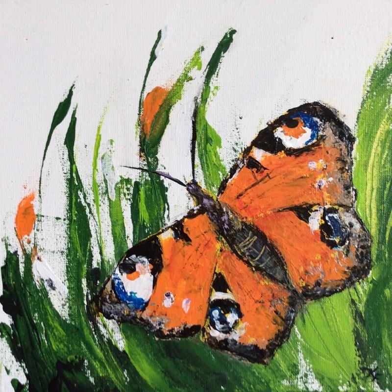 """Not the same painting..."" original fine art by Klaudia Frieda"