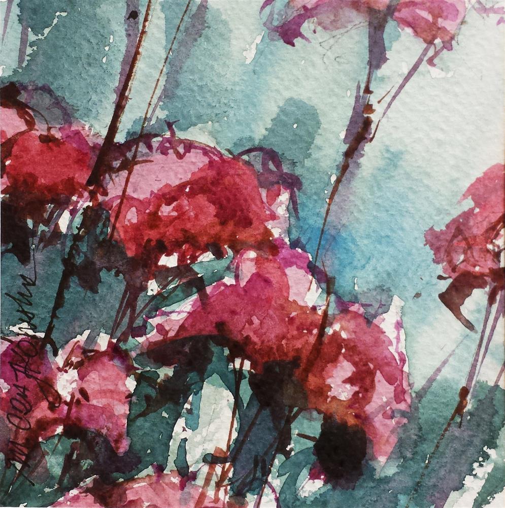 """Stonecrop"" original fine art by Marlena Czajkowska"