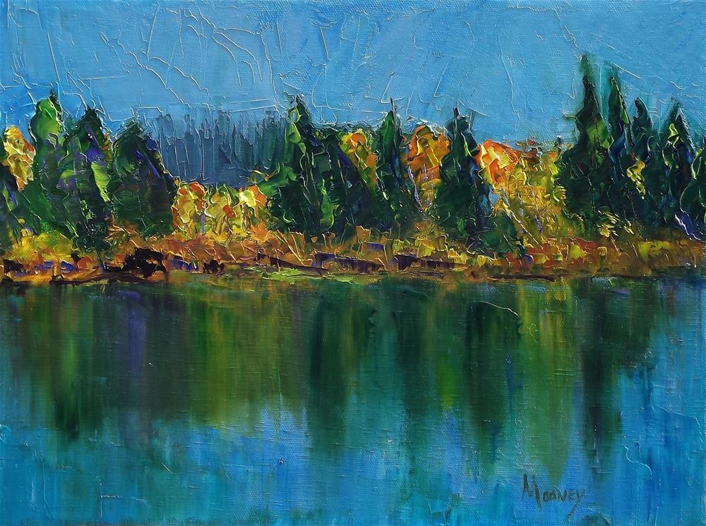 """""""Jumbo Lakes, Grand Mesa, Colorado"""" original fine art by Linda mooney"""