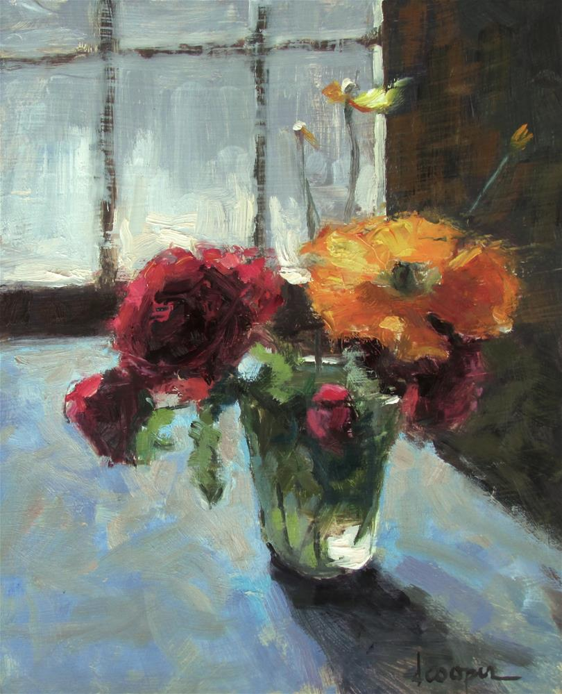 """California Poppy"" original fine art by Dana Cooper"