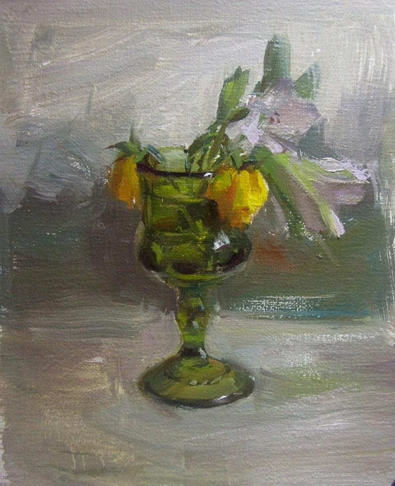 """Still life"" original fine art by Taisia Kuklina"