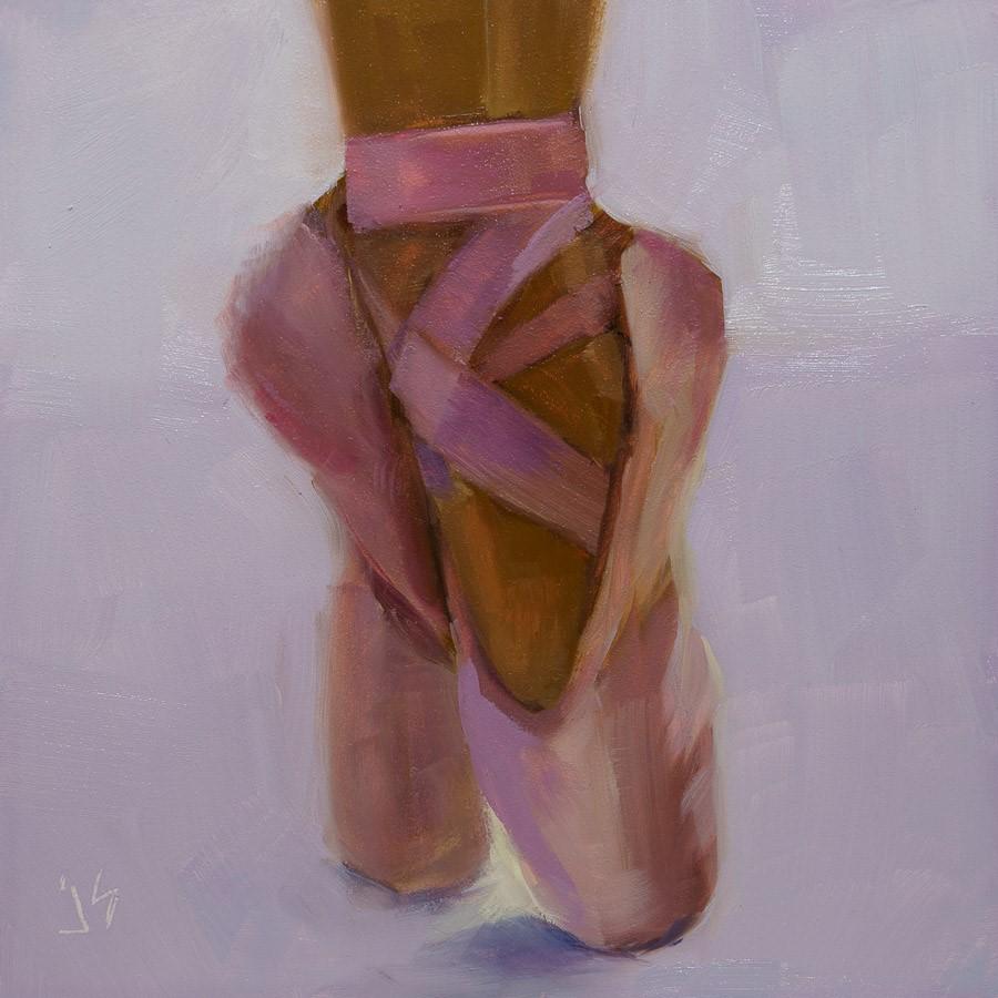 """""""The Dance"""" original fine art by Johnna Schelling"""