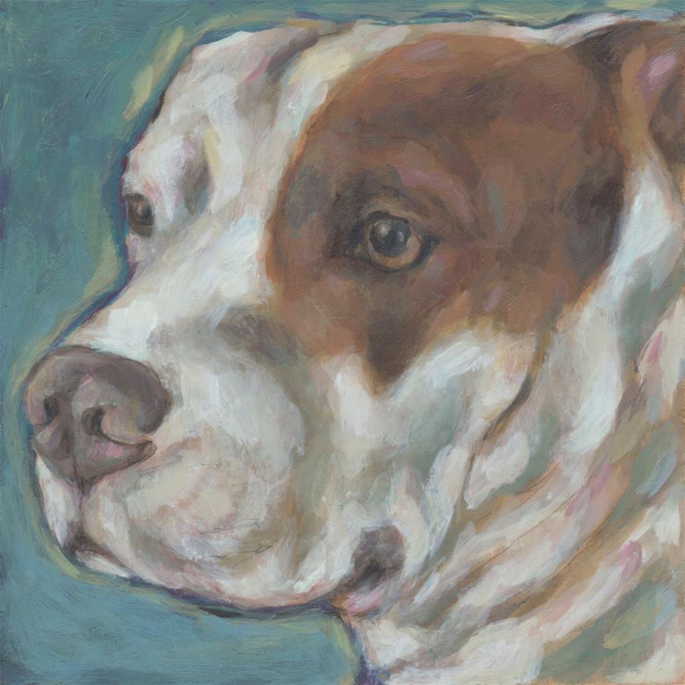 """Winnie"" original fine art by Kathy Hiserman"