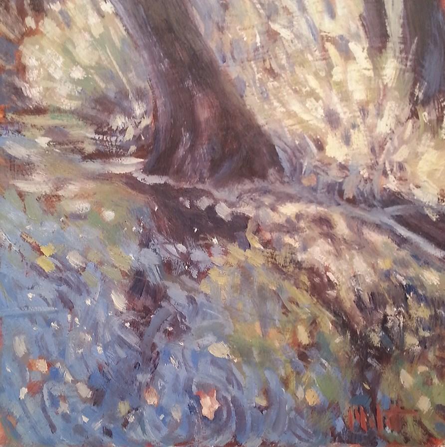 """Canoe Chain O Lakes Original Oil Painting"" original fine art by Heidi Malott"