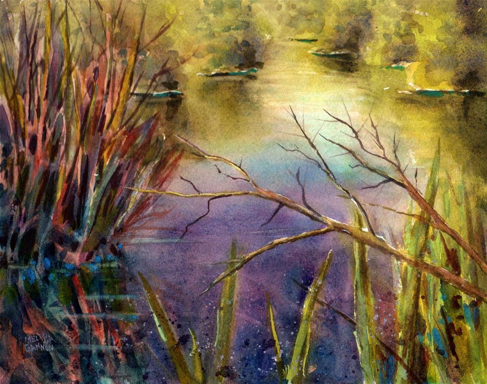 """Music of the Marsh"" original fine art by Melissa Gannon"