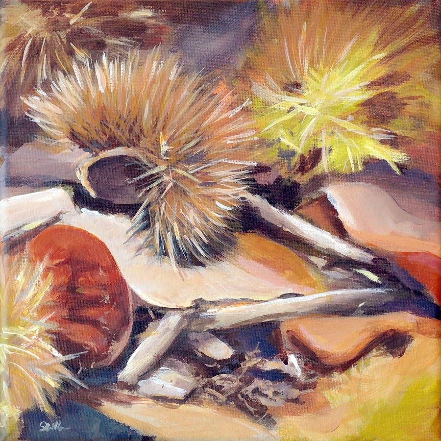 """1132 Chestnut on Duff"" original fine art by Dietmar Stiller"