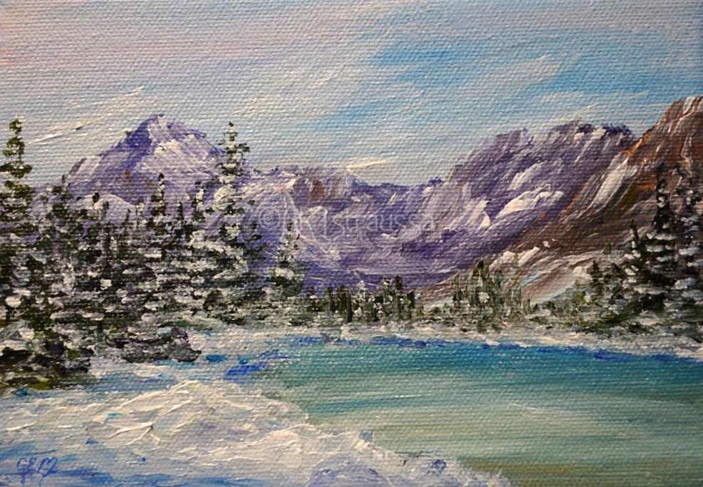 """""""SALE!!! Lake Josephine"""" original fine art by Gloria Ester"""