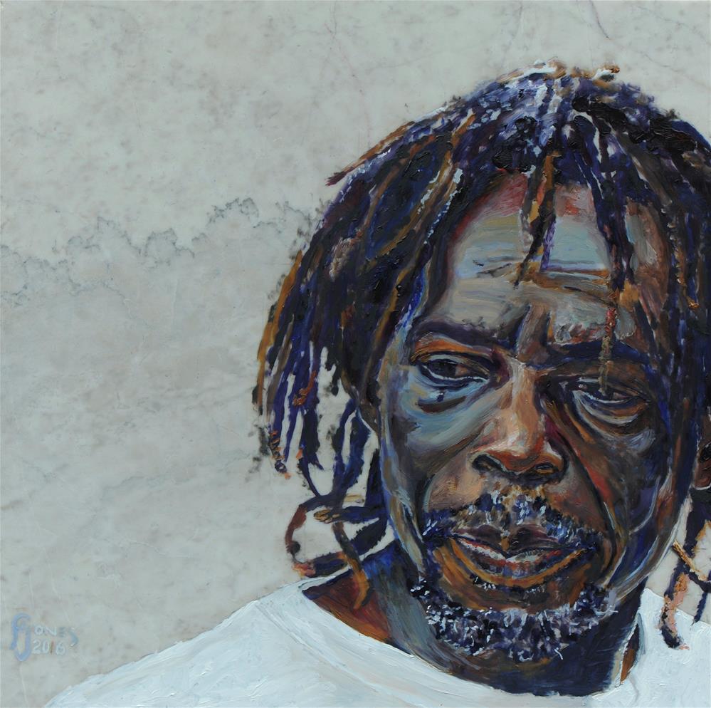 """Claudius"" original fine art by Fred Jones"