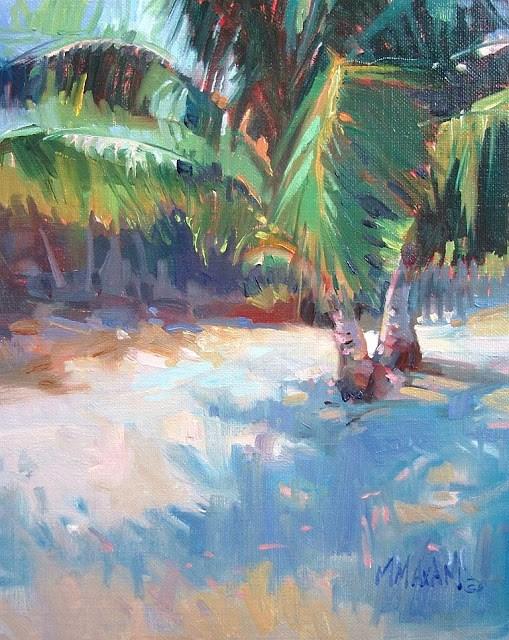 """Sand & Shadows"" original fine art by Mary Maxam"