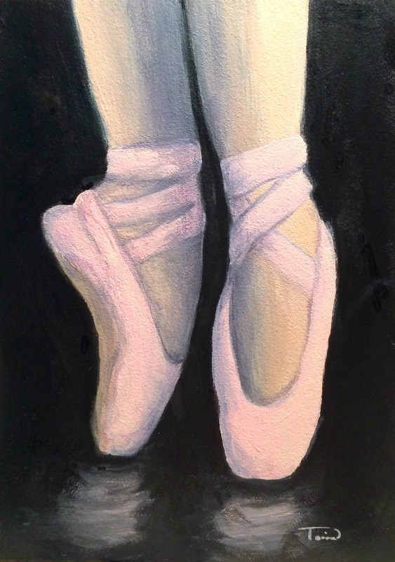 """On Point V"" original fine art by Torrie Smiley"