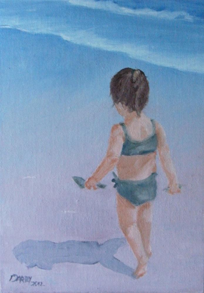 """On a Quest"" original fine art by Lynn Darby"