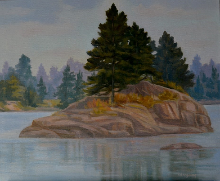 """Steadfast"" original fine art by Cathy Bergsing"