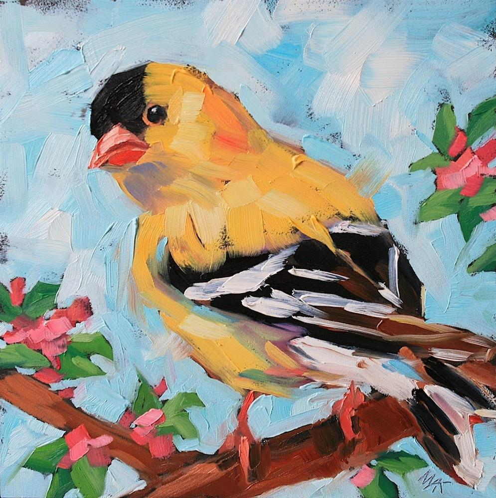 """Goldie"" original fine art by Mary Anne Cary"