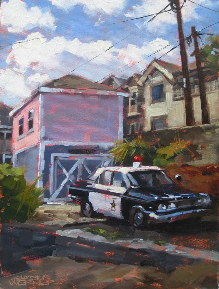 """Jerome's Finest"" original fine art by Karen Werner"
