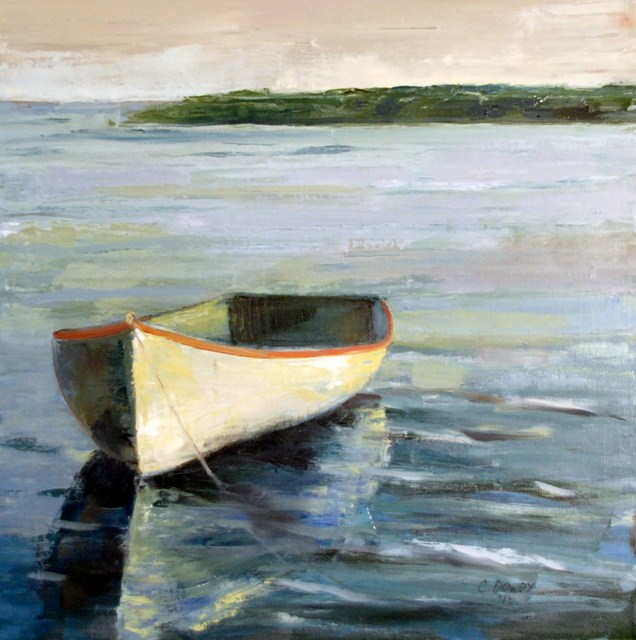 """Calm Water"" original fine art by Christina Dowdy"