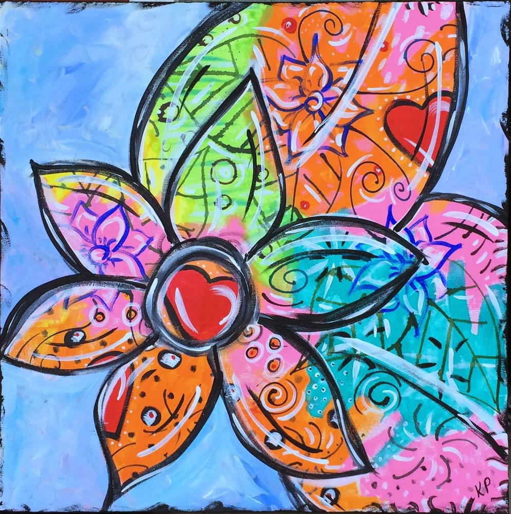 """""""For the Love of Art"""" original fine art by Kali Parsons"""