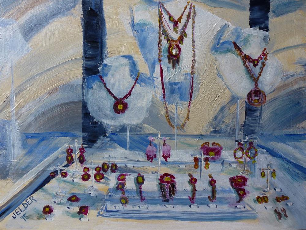 """Paris No. 87"" original fine art by Judith Elder"