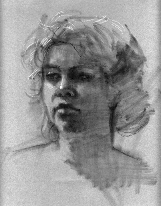 """untitled"" original fine art by Kathy Weber"