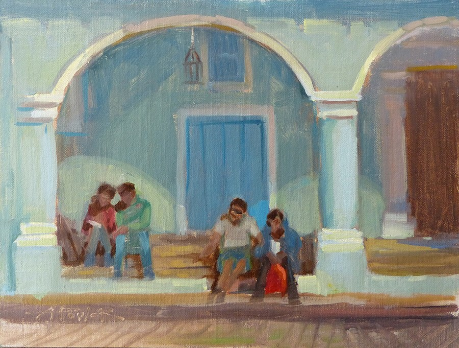 """""""Cuba - What was New is Old"""" original fine art by Anette Power"""