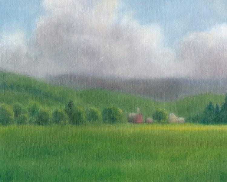 """Breaking Sun (SOLD)"" original fine art by Barbara Fox"