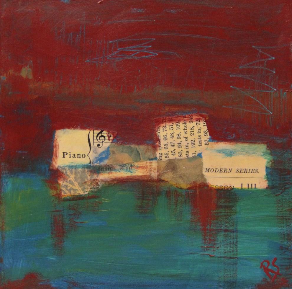 """Piano Modern"" original fine art by Roberta Schmidt ArtcyLucy"