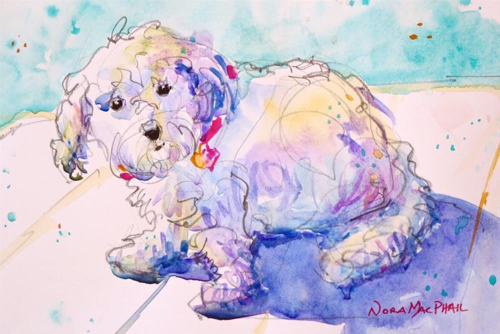"""snookums"" original fine art by Nora MacPhail"