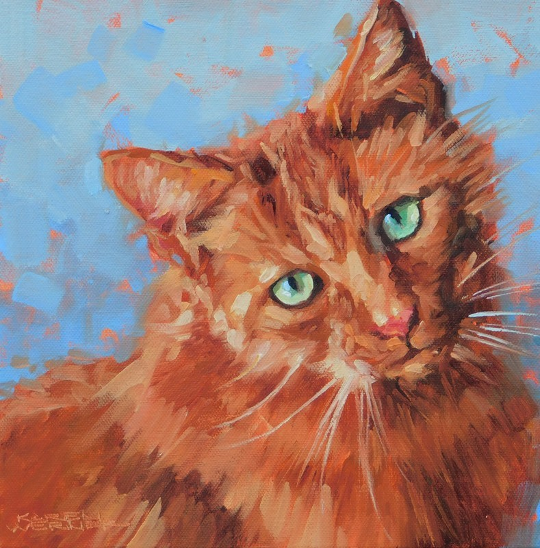 """Ginger"" original fine art by Karen Werner"