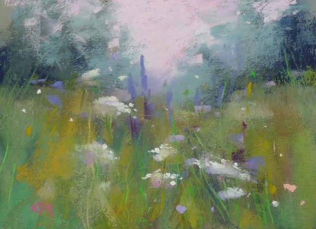 """How to Display Unframed Pastel Paintings"" original fine art by Karen Margulis"