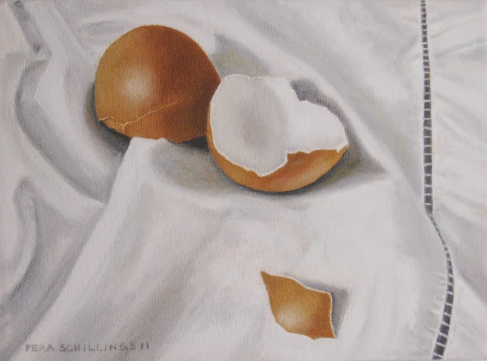 """Egg Mania XI"" original fine art by Pera Schillings"